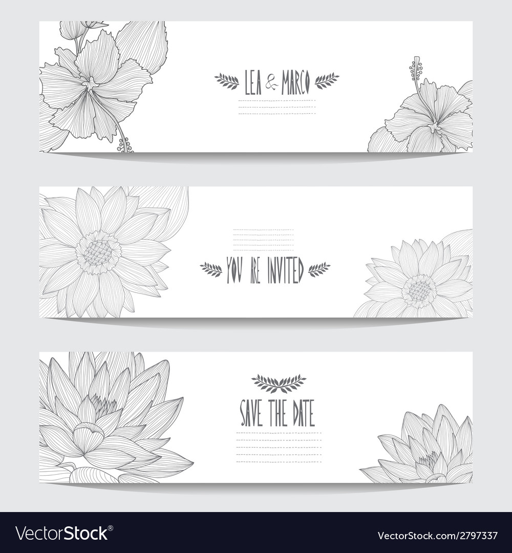 Floral cards vector | Price: 1 Credit (USD $1)