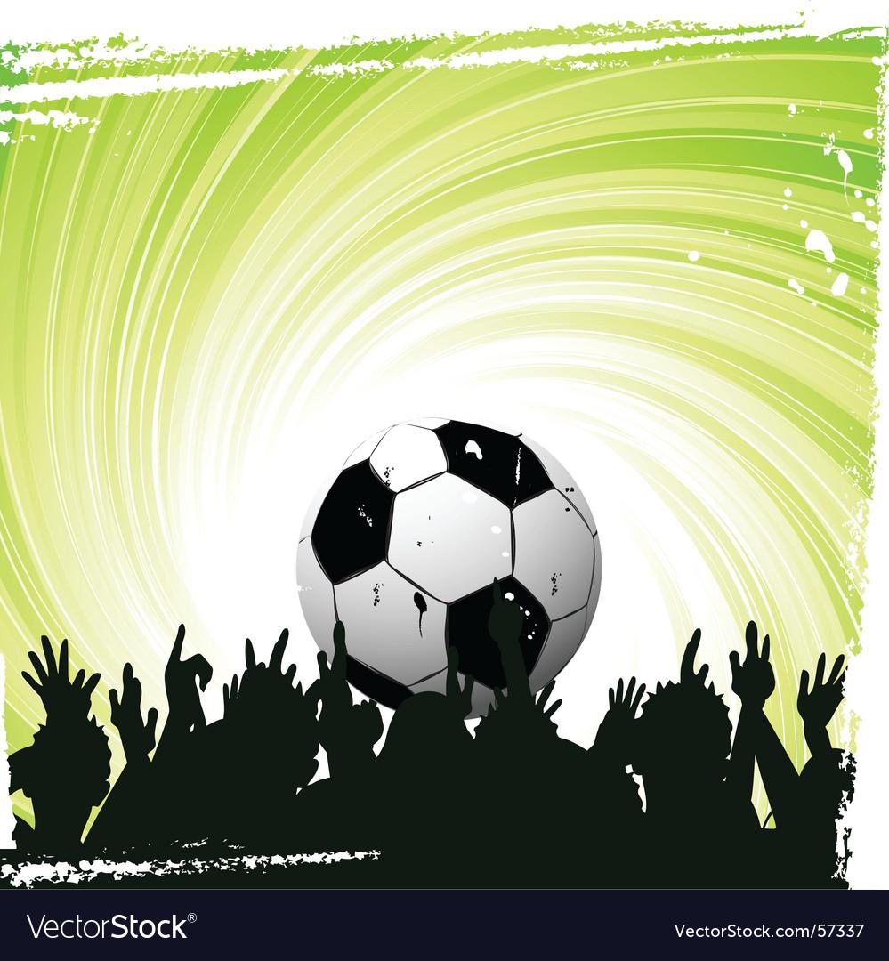 Football worship vector | Price: 1 Credit (USD $1)