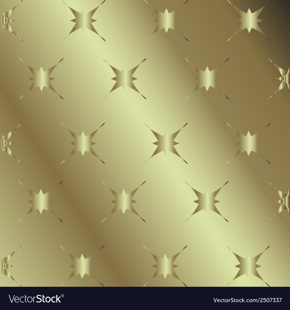Gold shooting stars on abstract dark background vector | Price: 1 Credit (USD $1)