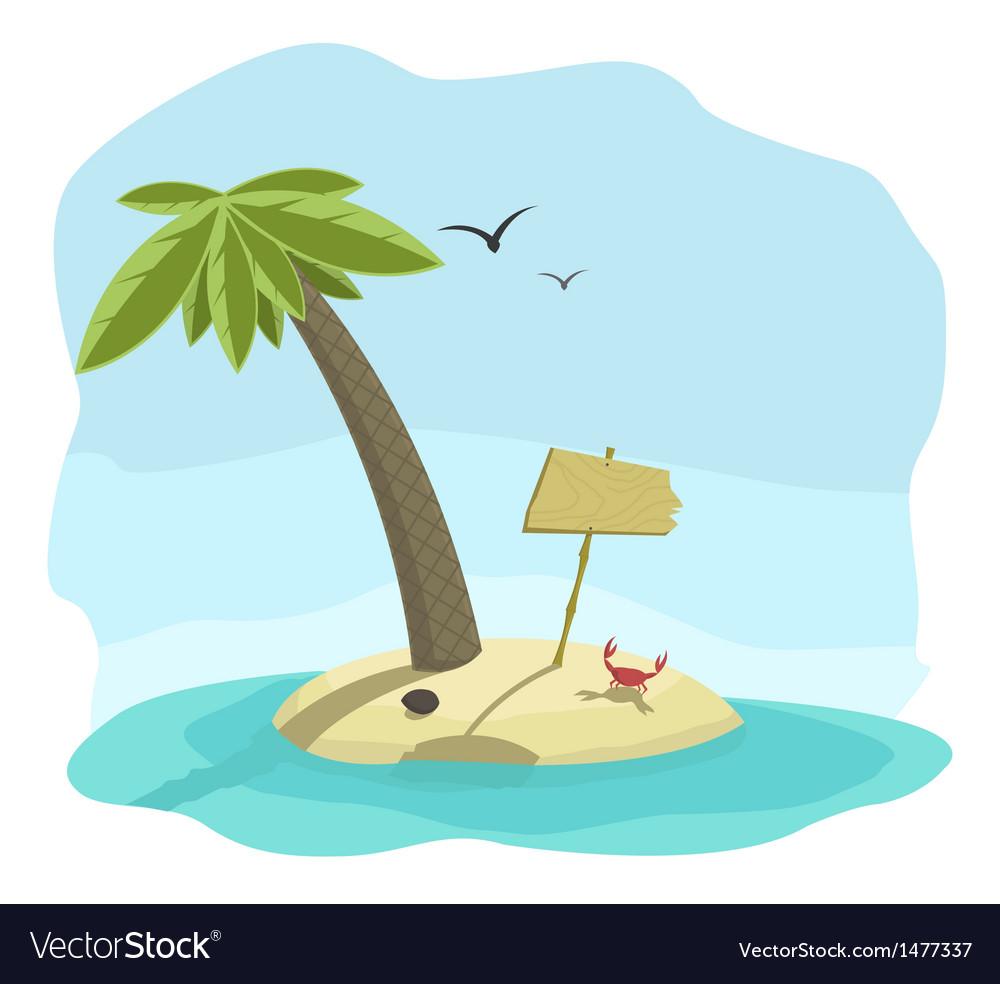 Island vector   Price: 1 Credit (USD $1)