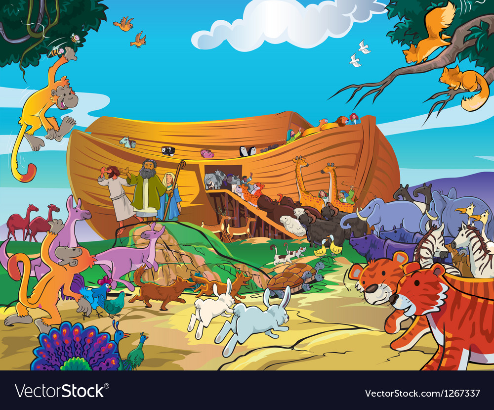 Noah ship vector | Price: 3 Credit (USD $3)