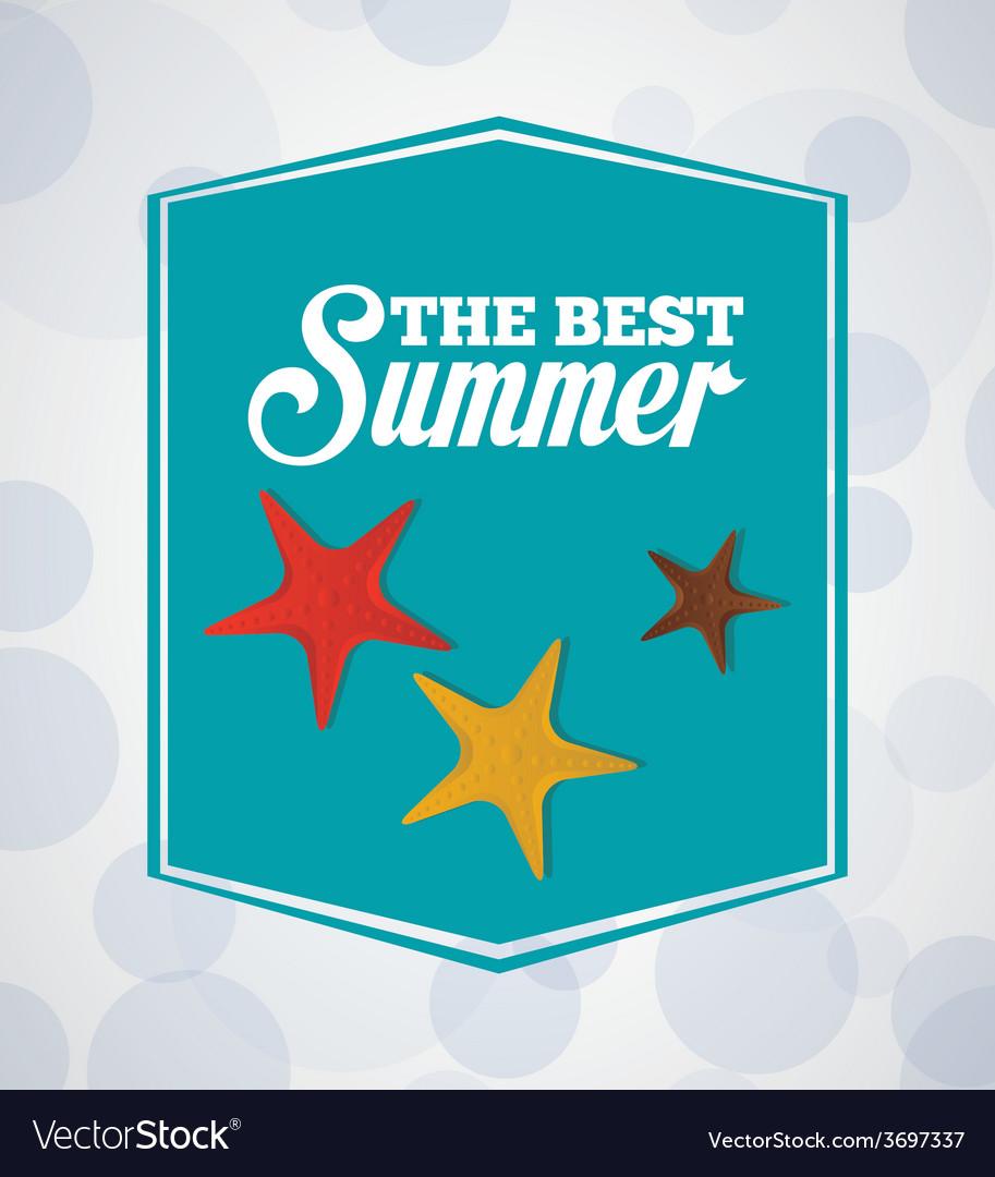 Summer vacations vector | Price: 1 Credit (USD $1)