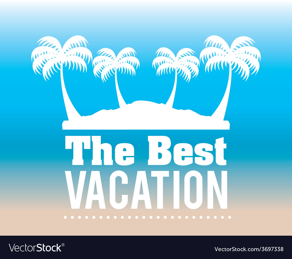 Summer vacations vector | Price: 1 Credit (USD $1)