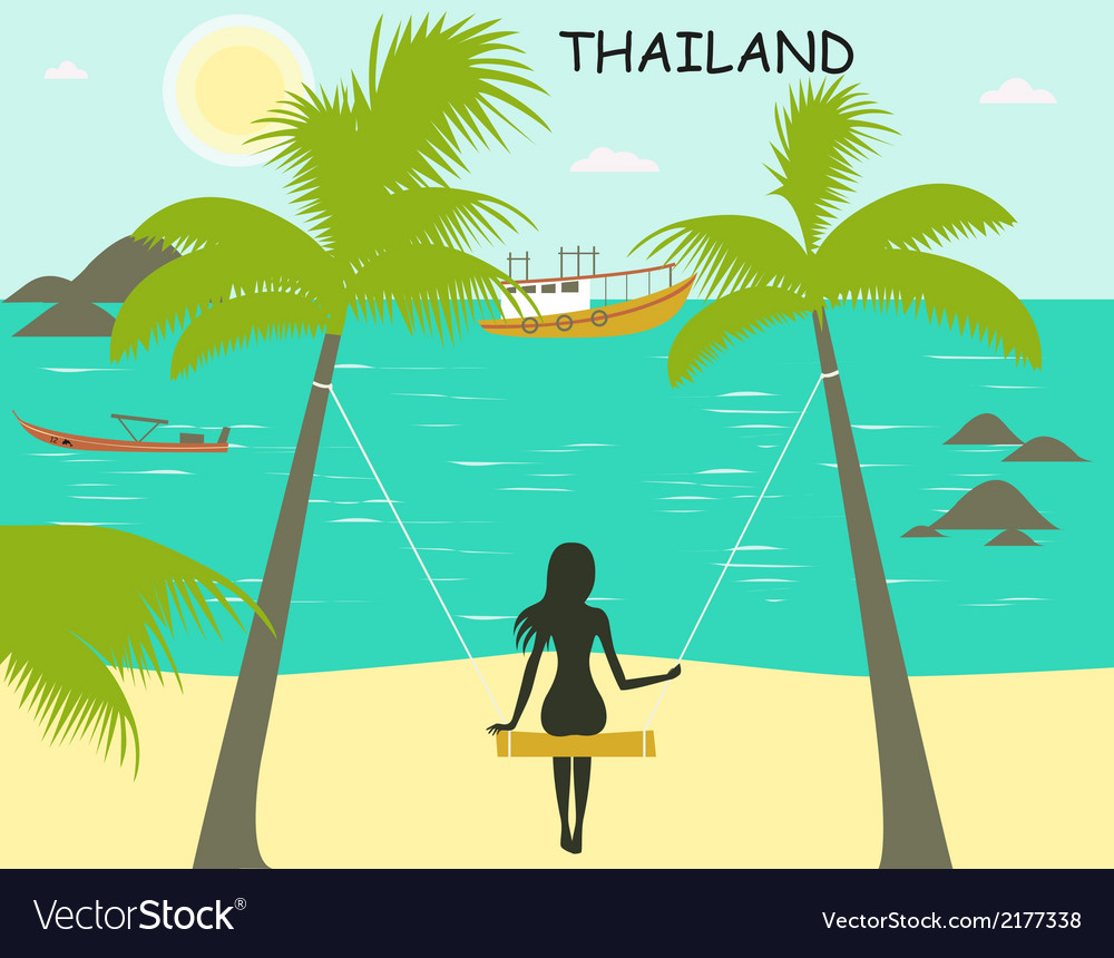 Thailand vector | Price: 1 Credit (USD $1)