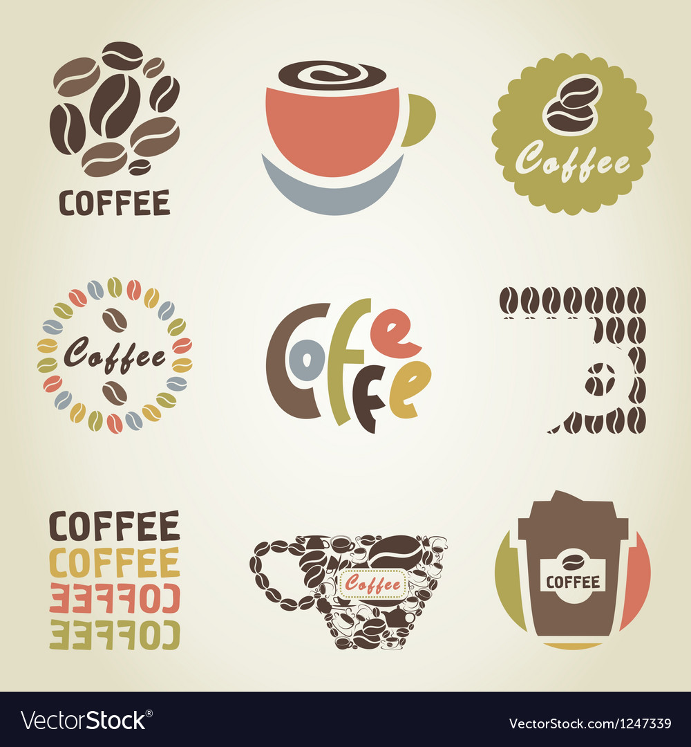 Coffee icon4 vector | Price: 1 Credit (USD $1)