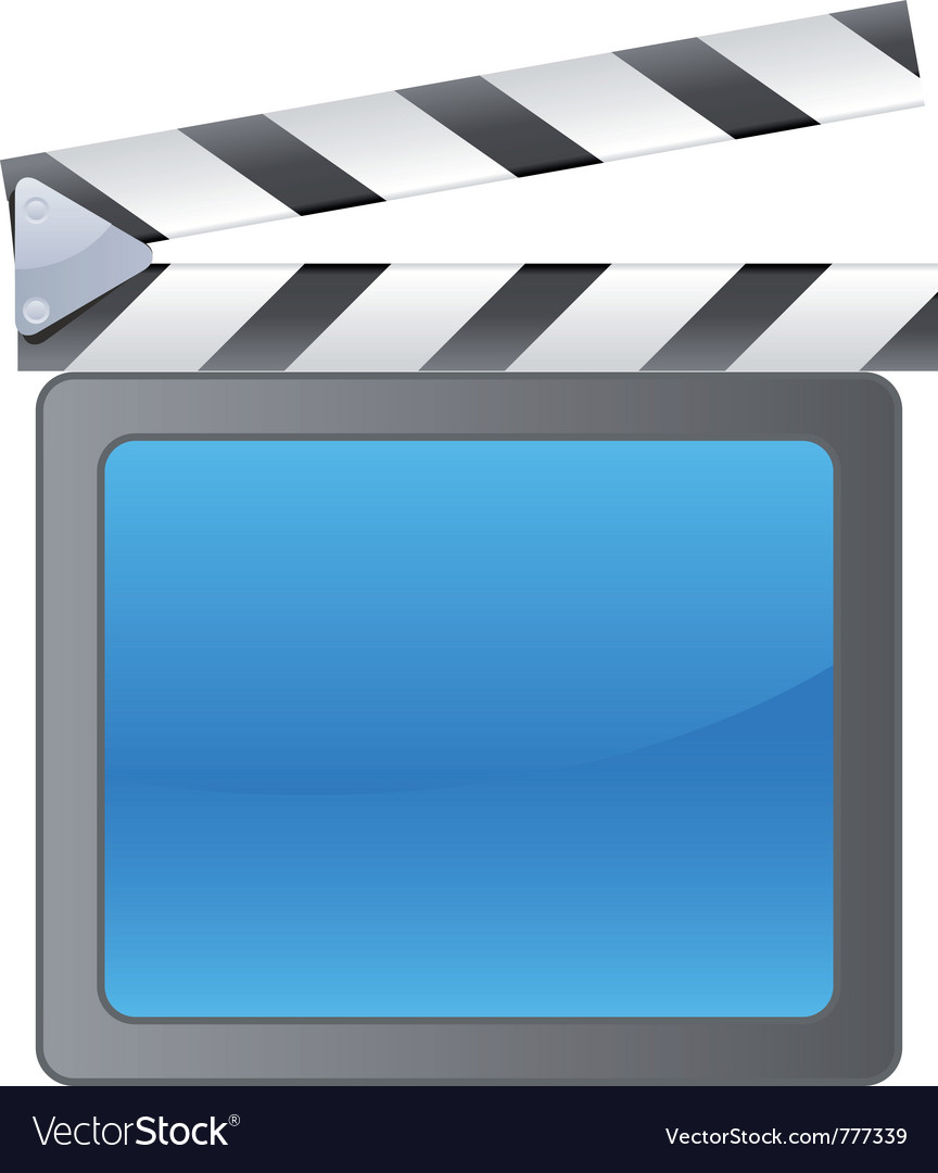 Film slate background vector | Price: 1 Credit (USD $1)