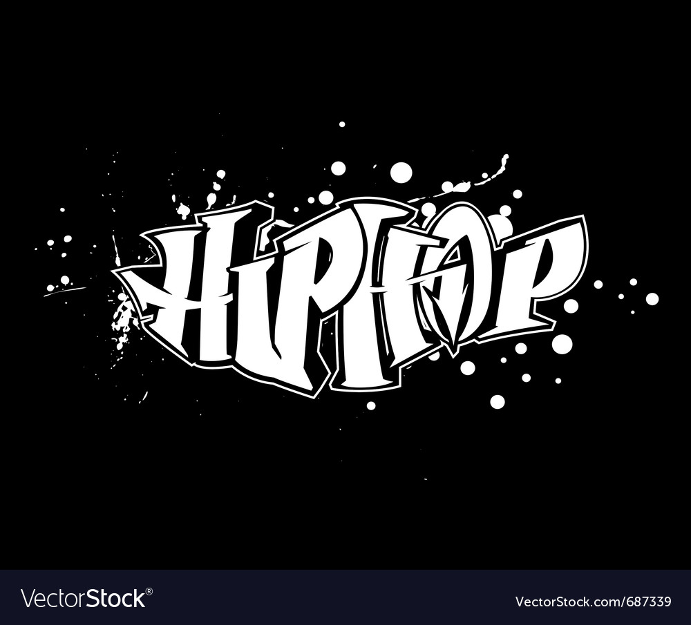 Hip-hop graffiti vector | Price: 1 Credit (USD $1)