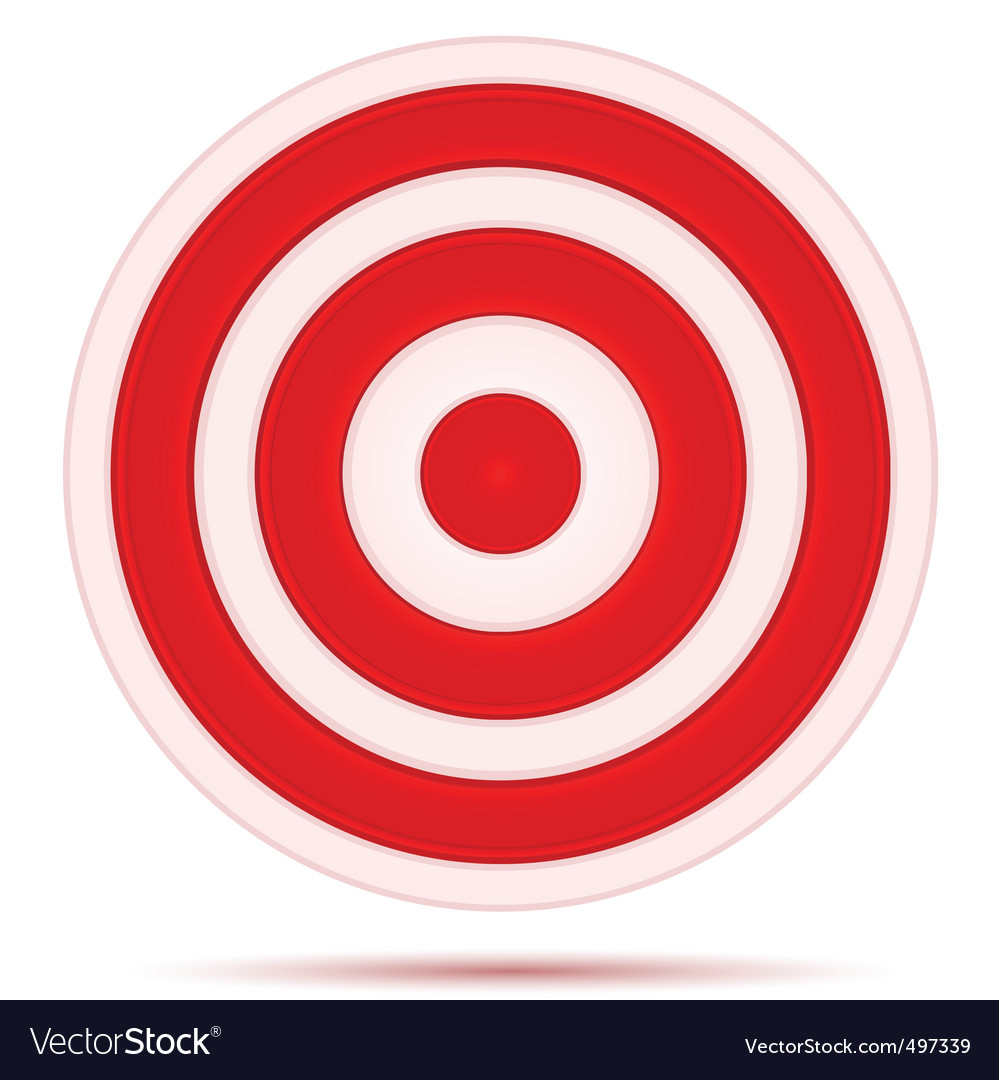 Target board vector | Price: 1 Credit (USD $1)