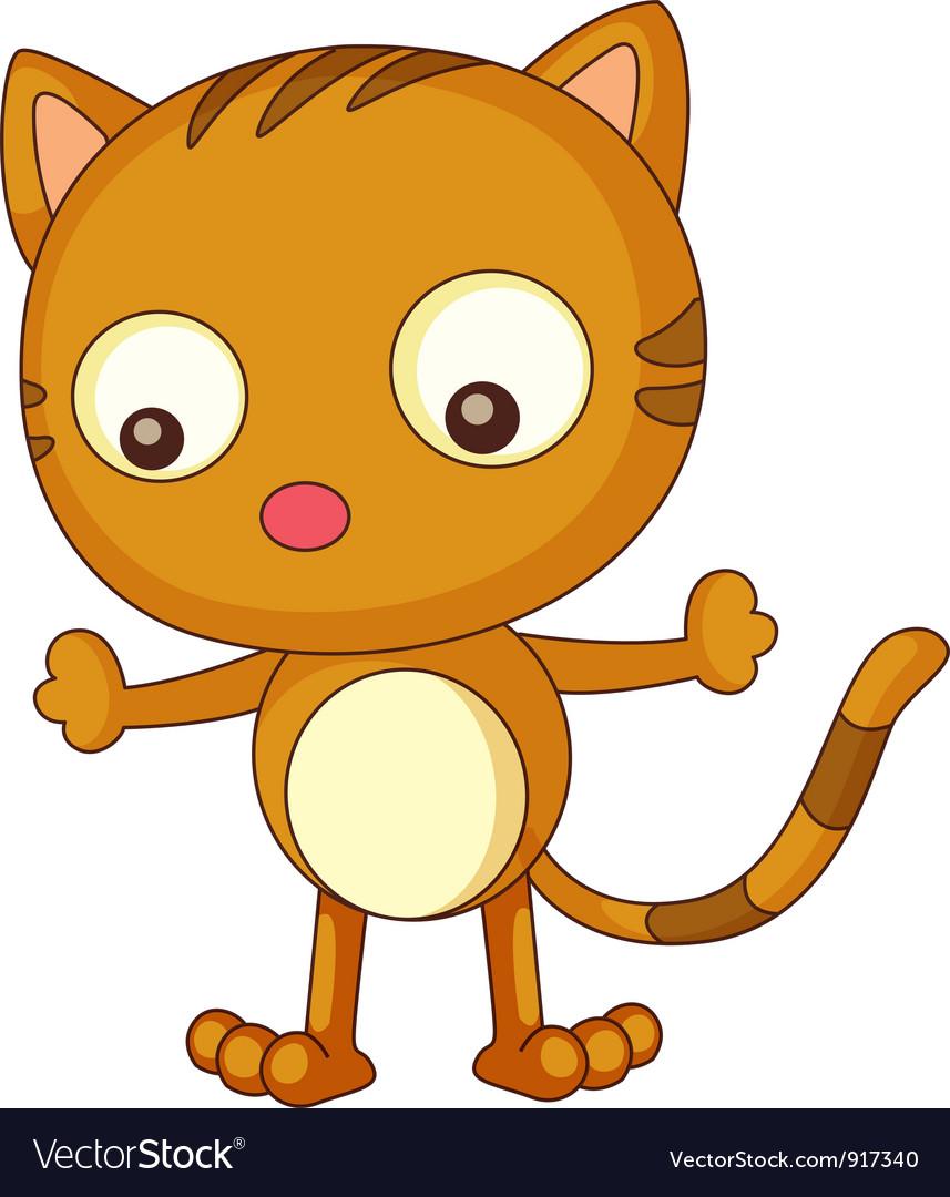 Cat cartoon vector | Price: 3 Credit (USD $3)