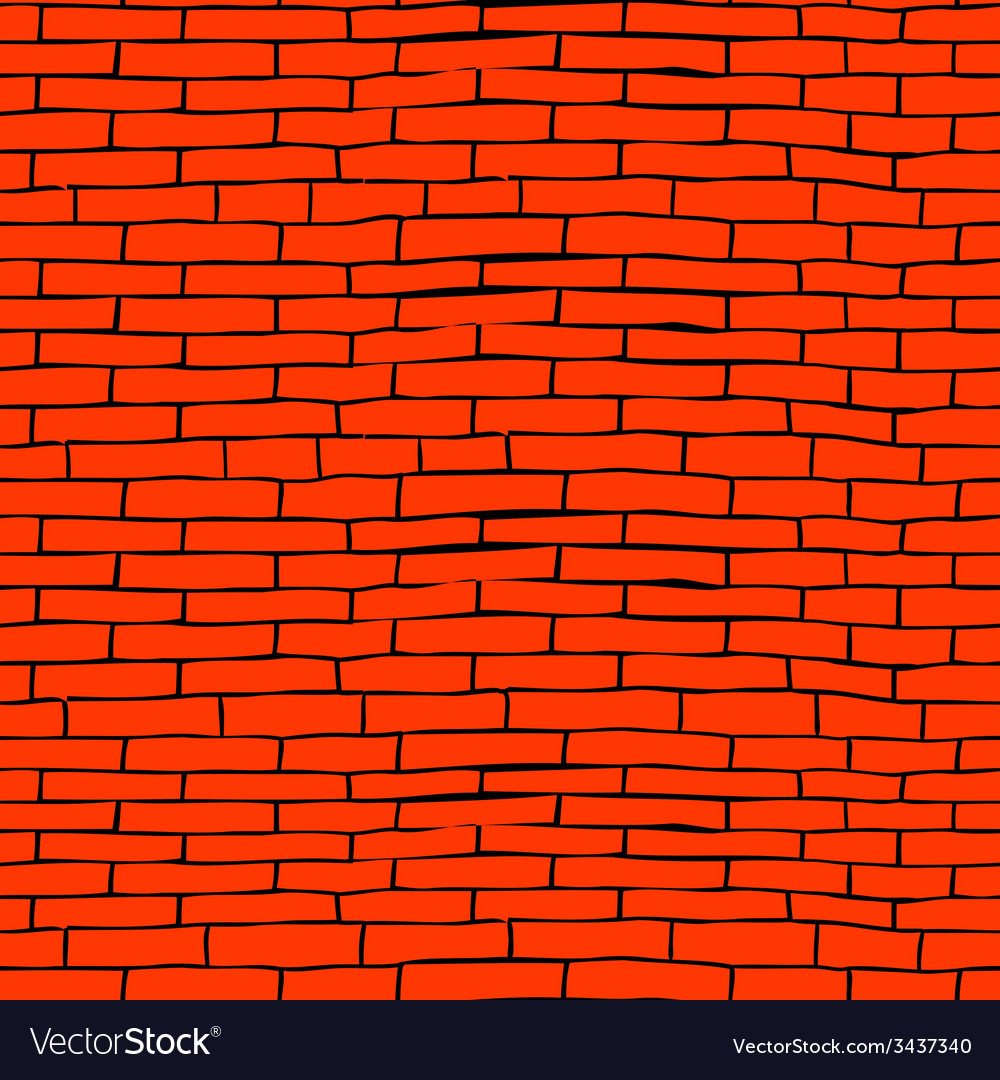 Seamless brick pattern vector | Price: 1 Credit (USD $1)