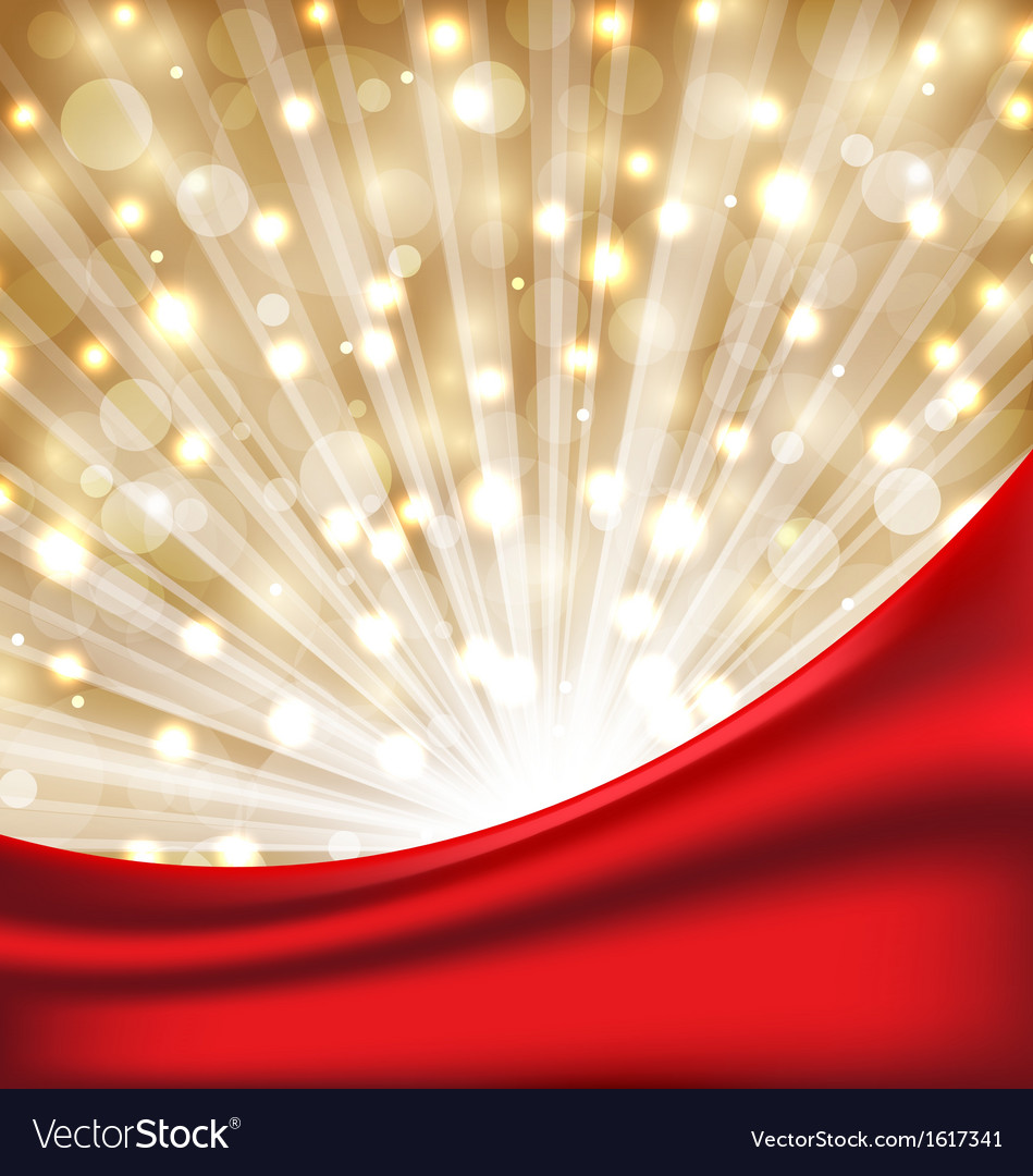 Christmas elegant background with glow effect vector | Price: 1 Credit (USD $1)