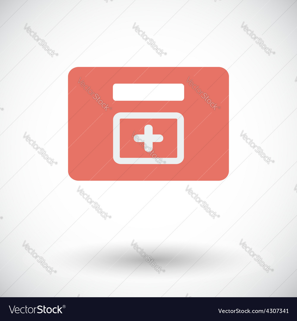 First aid kits icon vector | Price: 1 Credit (USD $1)