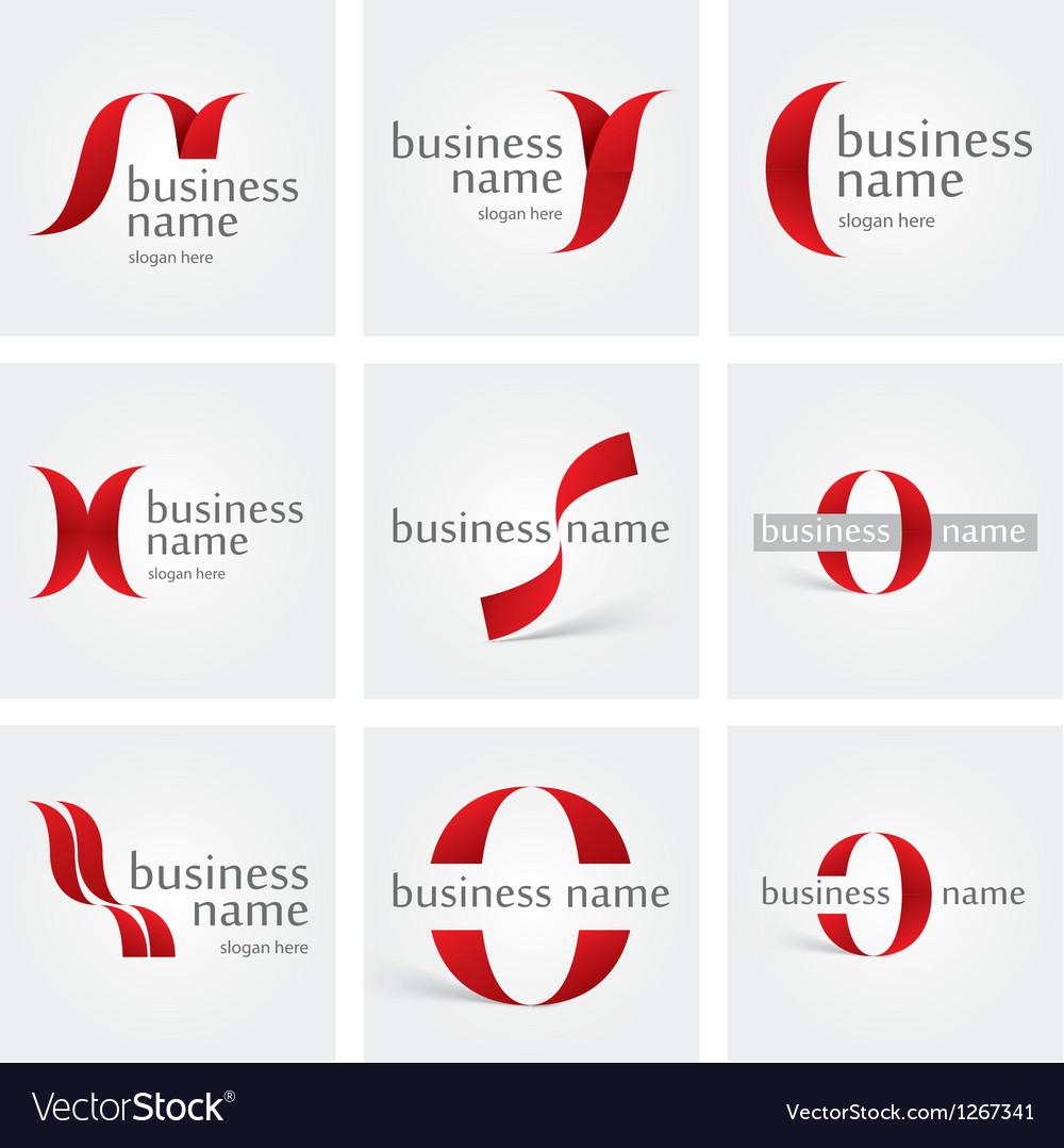 Logo ribbon vector | Price: 1 Credit (USD $1)