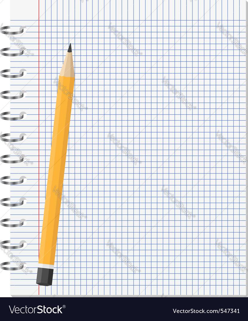 Paper notebook vector   Price: 1 Credit (USD $1)