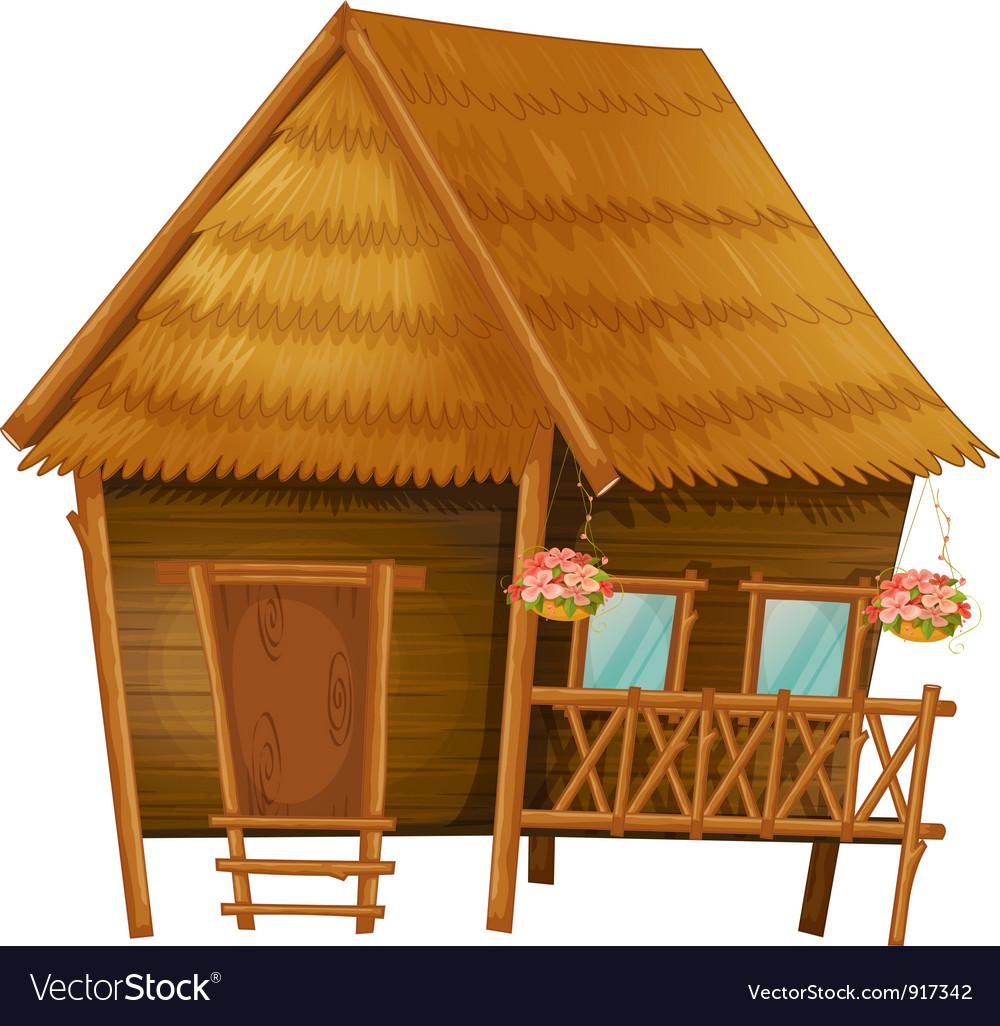 Cartoon hut vector | Price: 3 Credit (USD $3)