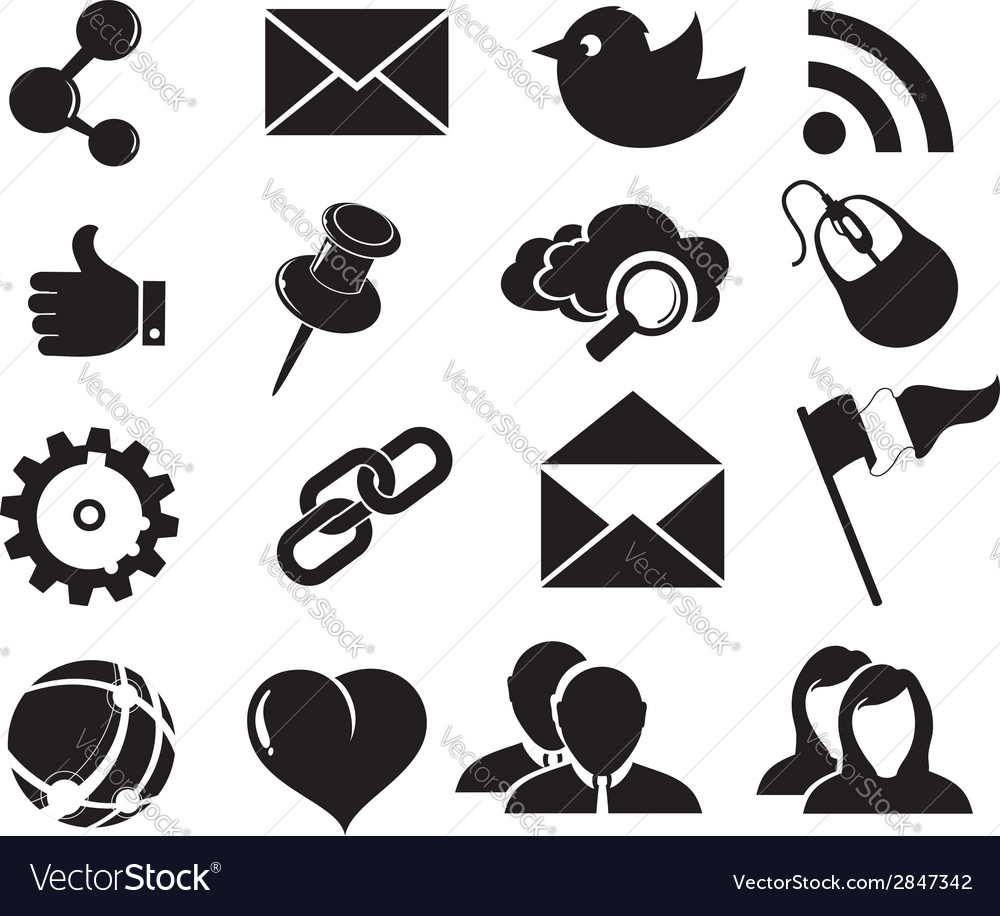 Social network icons vector   Price: 1 Credit (USD $1)