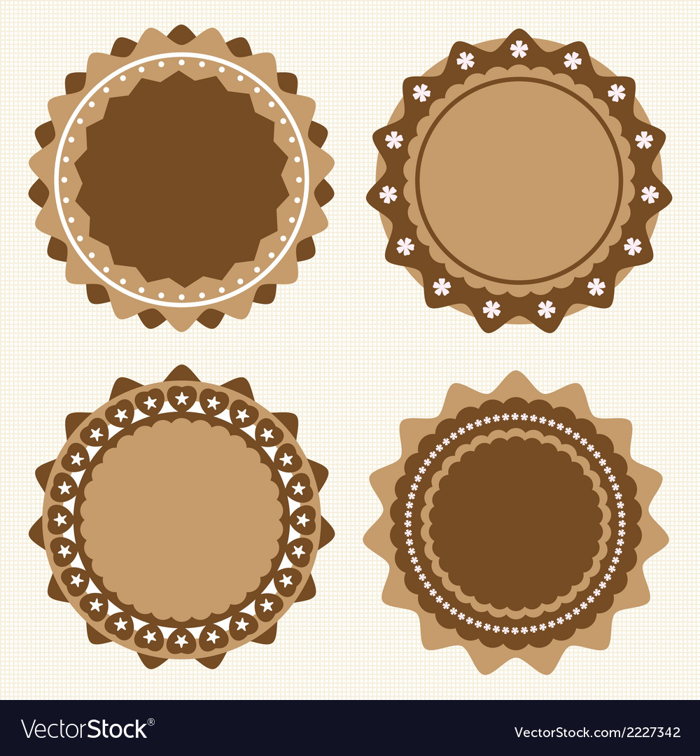 Vintage label vector | Price: 1 Credit (USD $1)