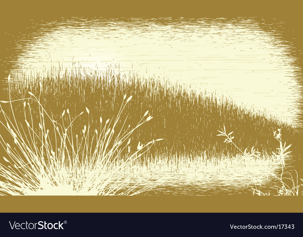 Grassy grunge vector | Price: 1 Credit (USD $1)