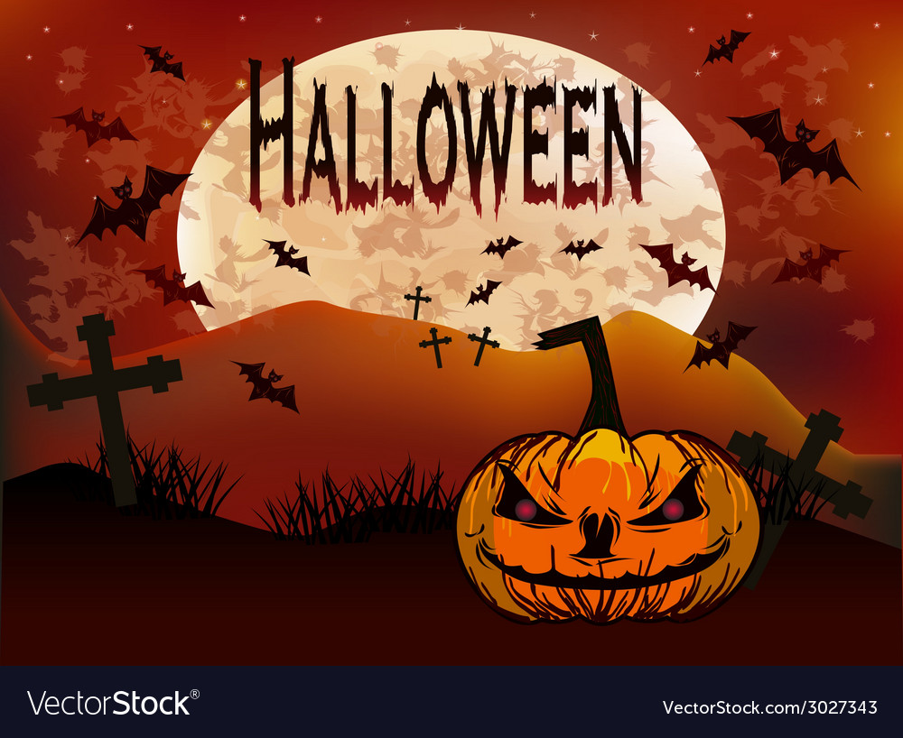 Halloween holiday vector | Price: 1 Credit (USD $1)