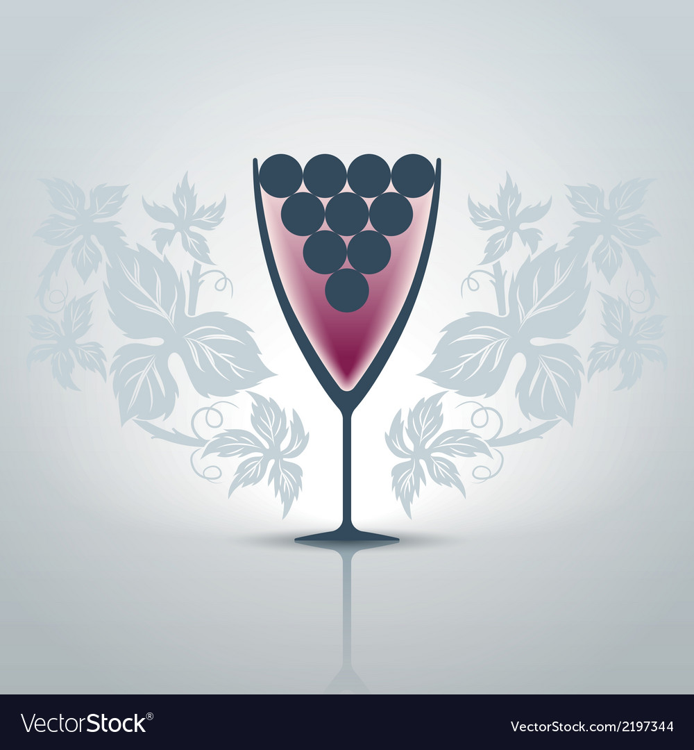 Glassofwine vector | Price: 1 Credit (USD $1)