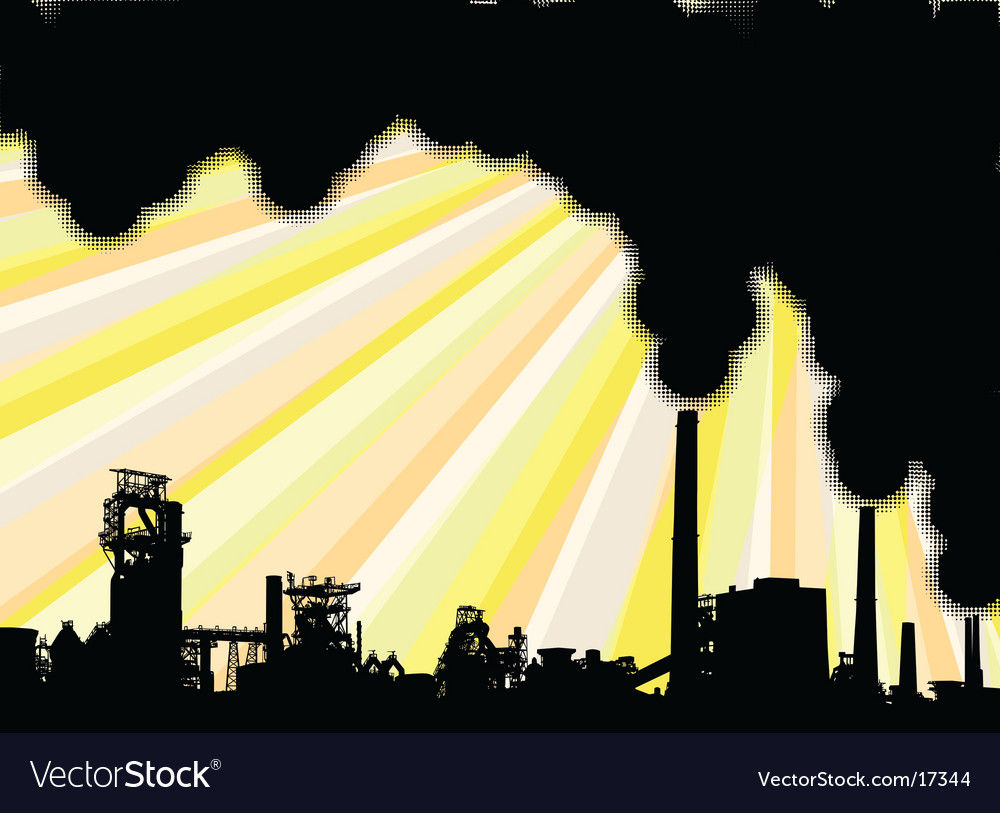 Industrial smoke vector | Price: 1 Credit (USD $1)