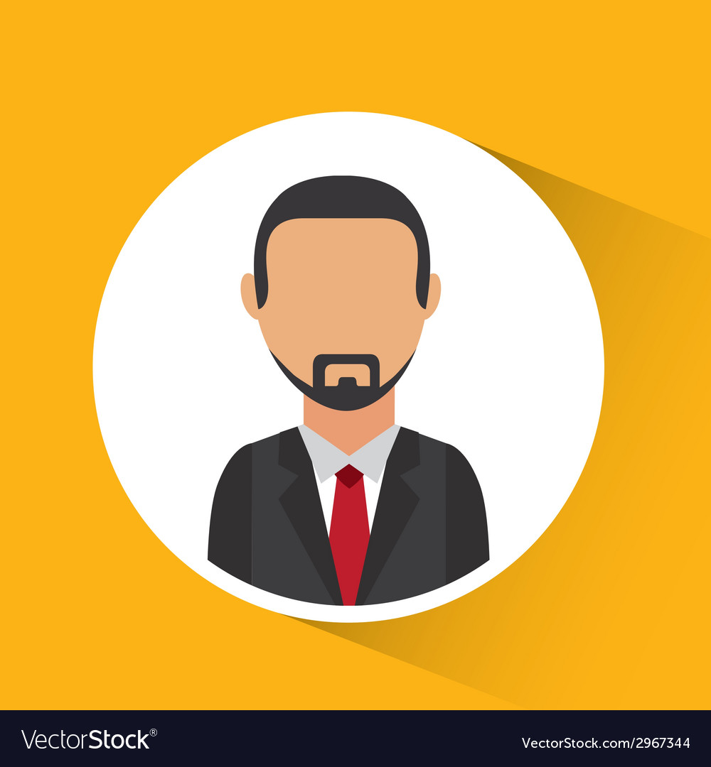 Man avatar design vector   Price: 1 Credit (USD $1)