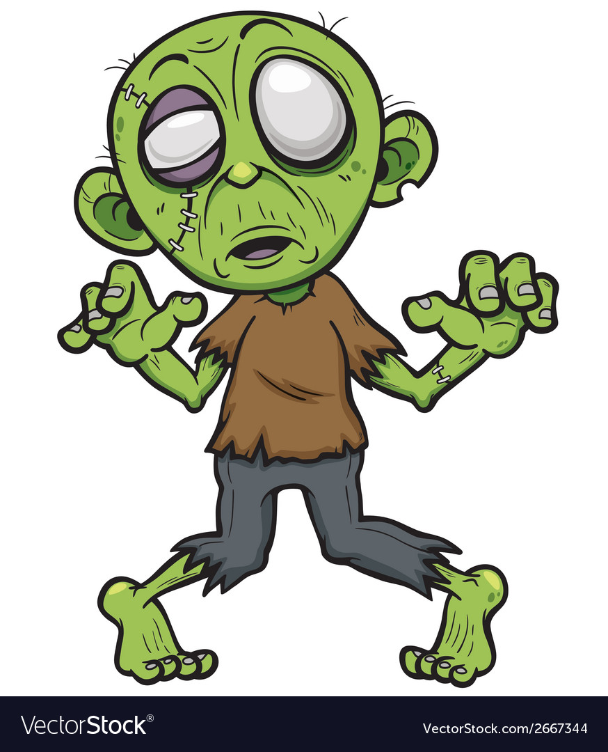 Zombie vector | Price: 3 Credit (USD $3)