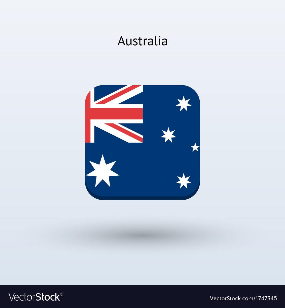 Australia flag icon vector | Price: 1 Credit (USD $1)