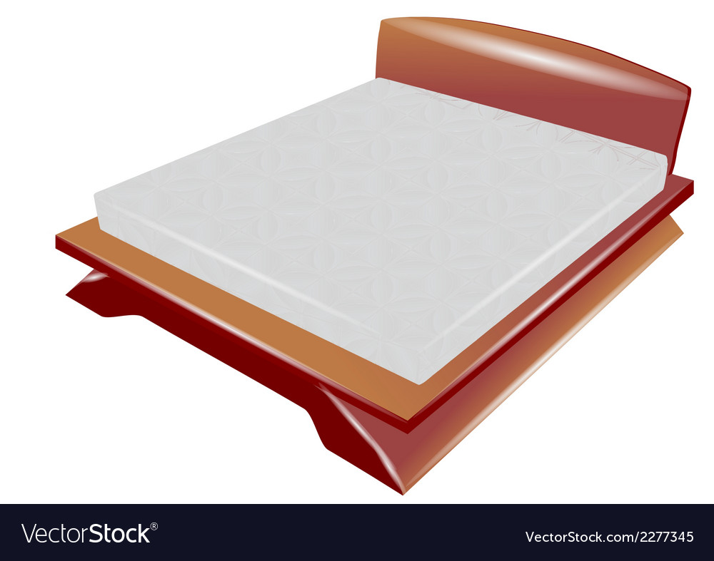 Sleep bed vector | Price: 1 Credit (USD $1)