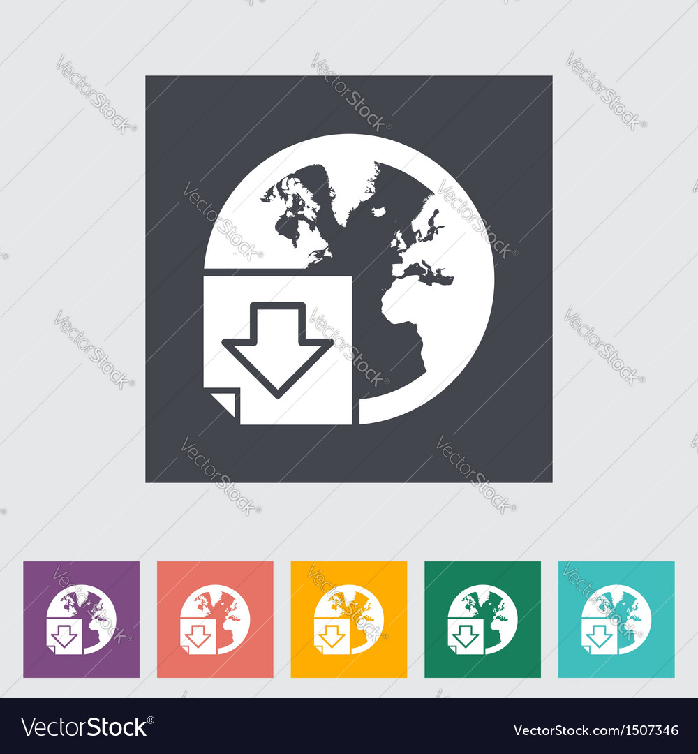 Download file single icon vector | Price: 1 Credit (USD $1)