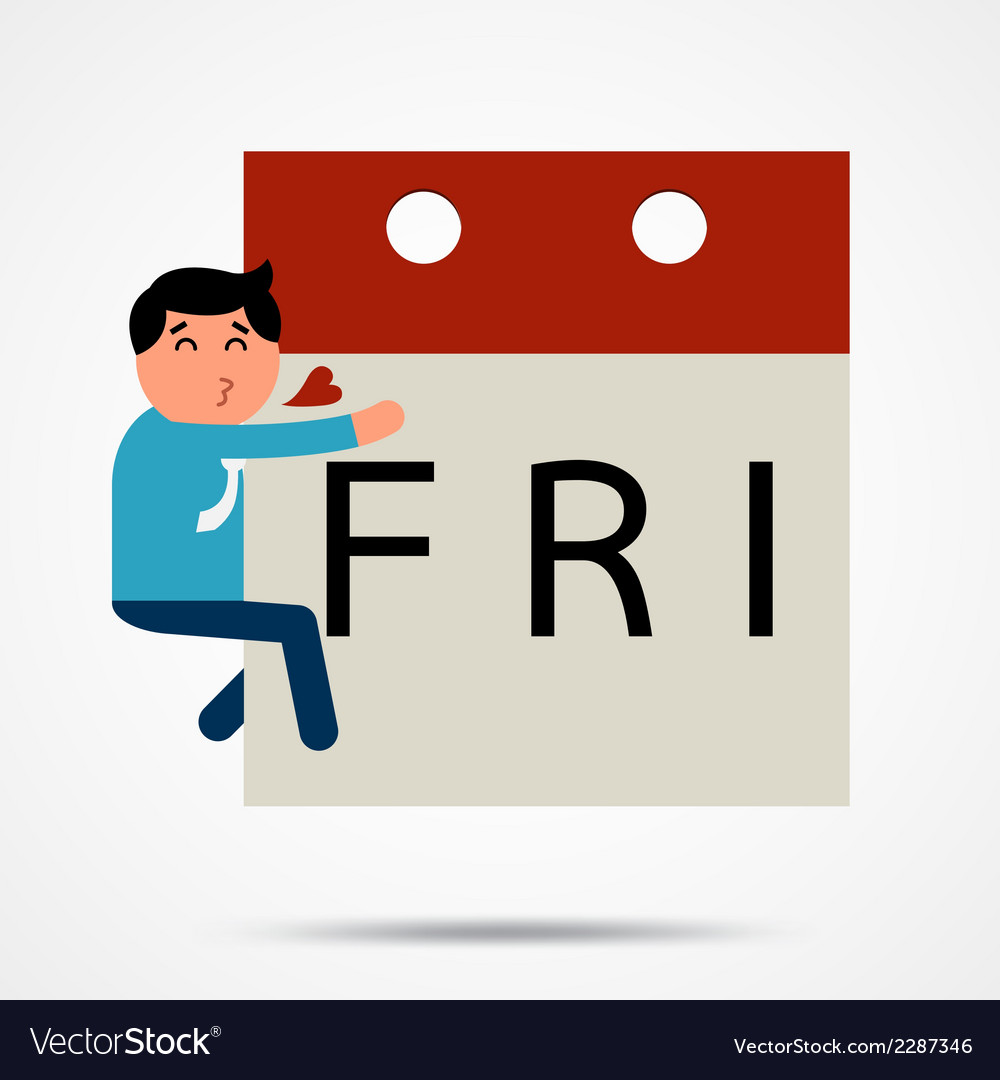 Fridayman vector | Price: 1 Credit (USD $1)