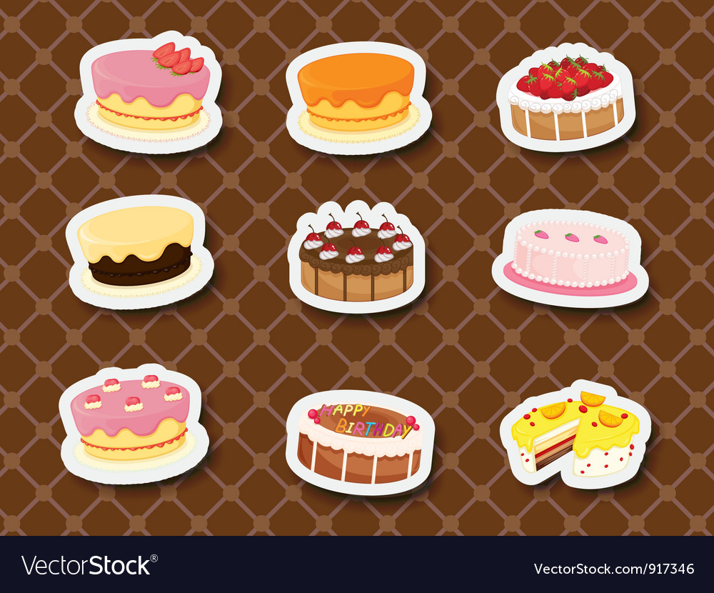 Sweet dessert vector | Price: 3 Credit (USD $3)