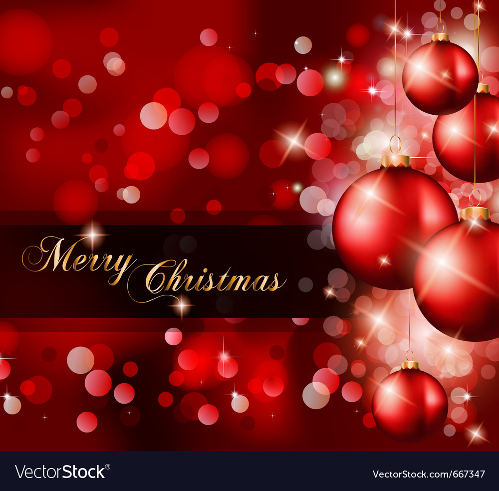 Elegant classic christmas vector | Price: 1 Credit (USD $1)