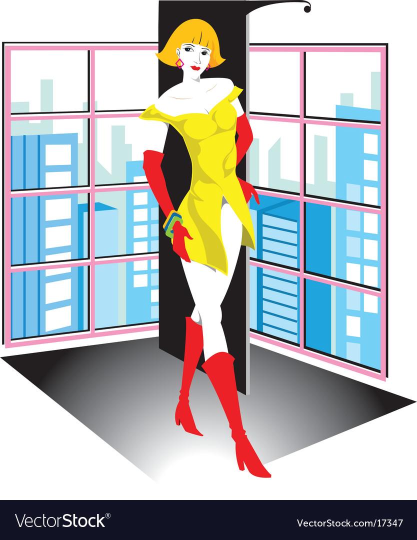 Fashion girl vector   Price: 3 Credit (USD $3)