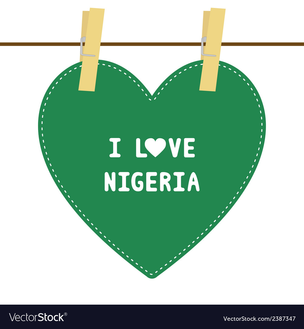 I love nigeria6 vector | Price: 1 Credit (USD $1)