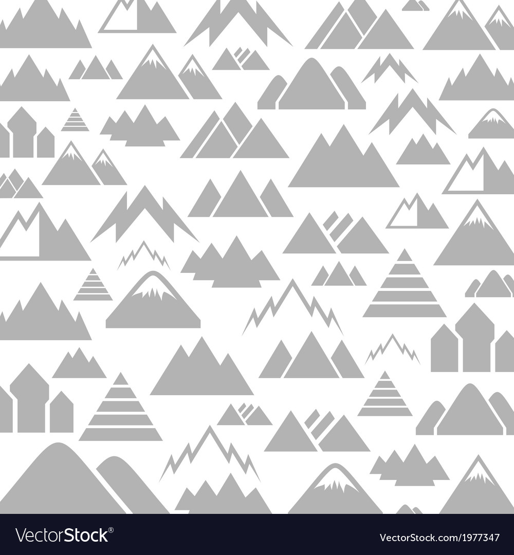 Mountain a background vector | Price: 1 Credit (USD $1)