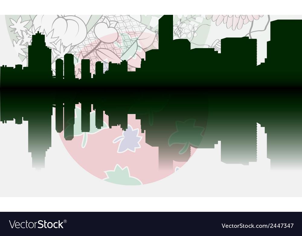 Tokyo city skyline vector   Price: 1 Credit (USD $1)