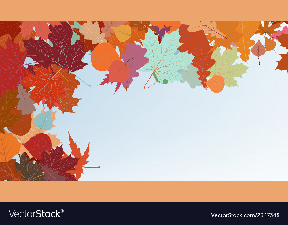 Autumn colorful background eps 8 vector | Price: 1 Credit (USD $1)