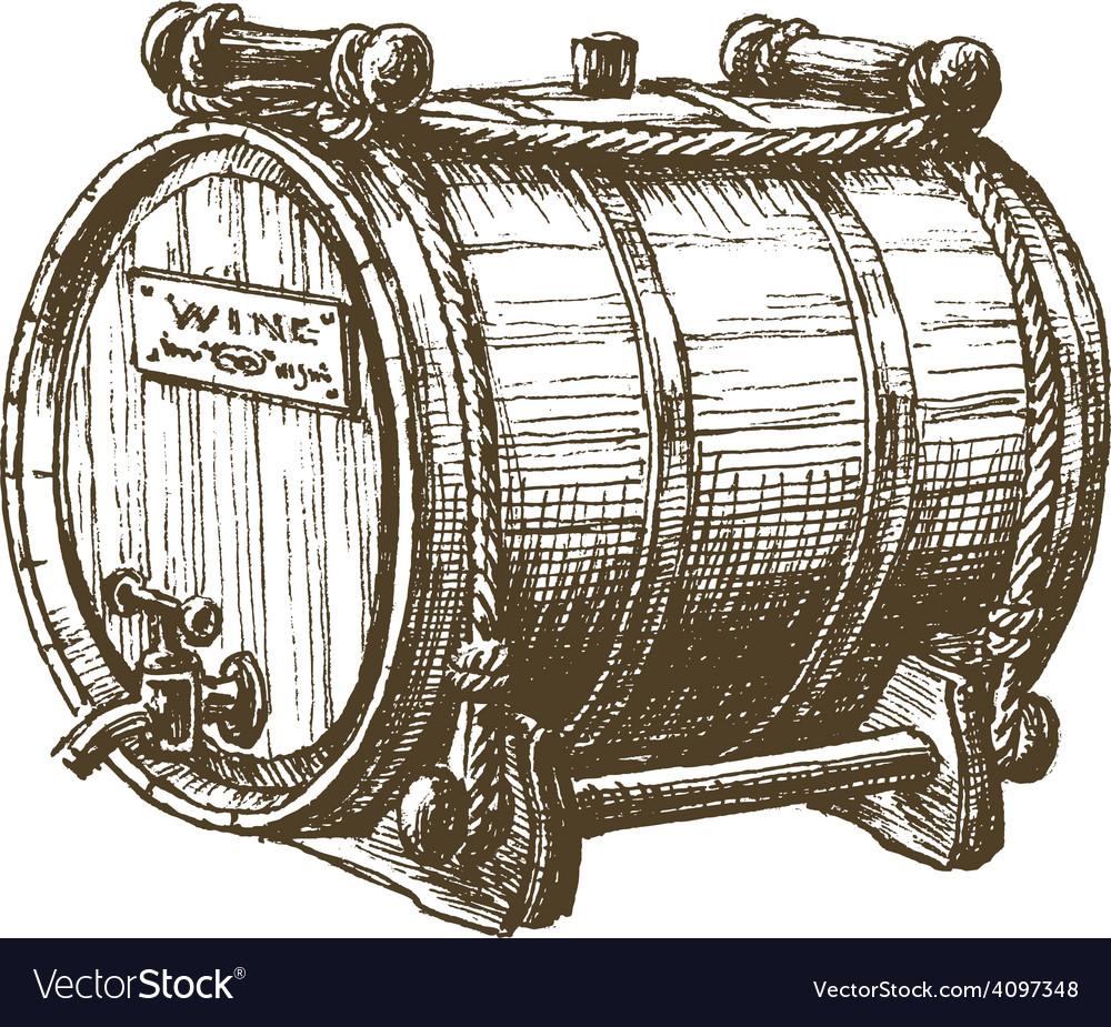 Barrel of wine logo design template beer vector | Price: 3 Credit (USD $3)
