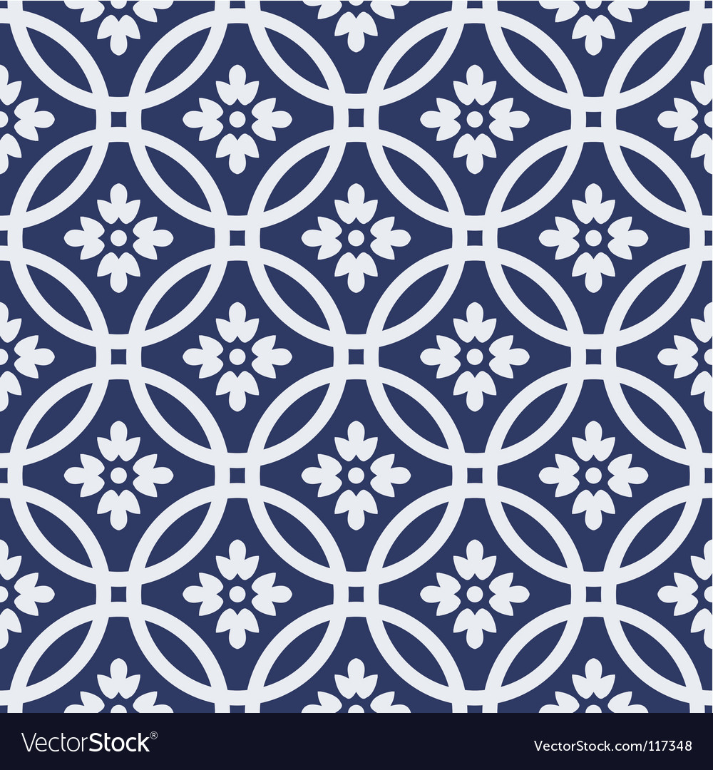 Circle seamless pattern vector | Price: 1 Credit (USD $1)