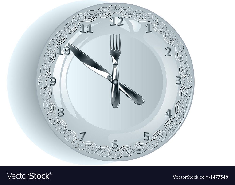 Lunch time vector | Price: 1 Credit (USD $1)
