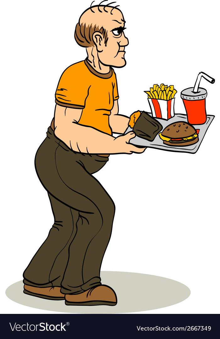 Glutton vector | Price: 1 Credit (USD $1)
