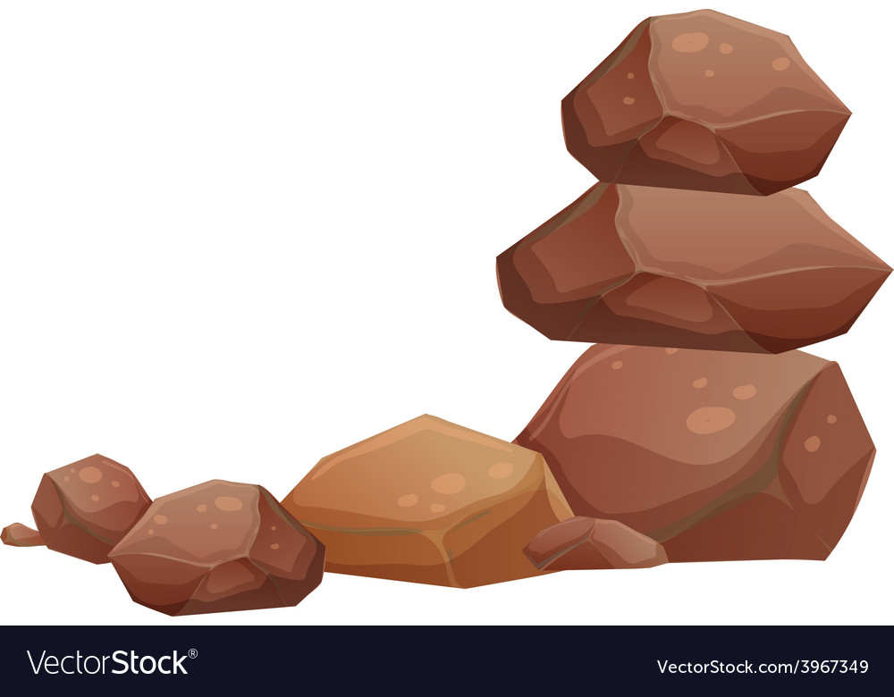Rocks vector | Price: 1 Credit (USD $1)