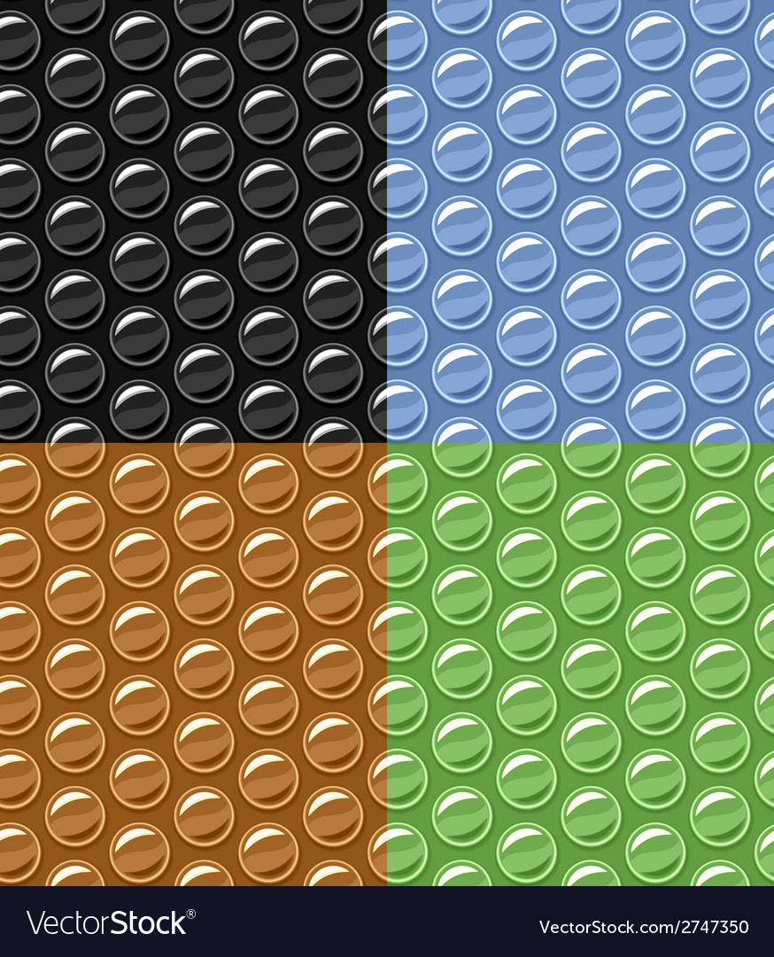 Bubble wrap seamless background vector | Price: 1 Credit (USD $1)