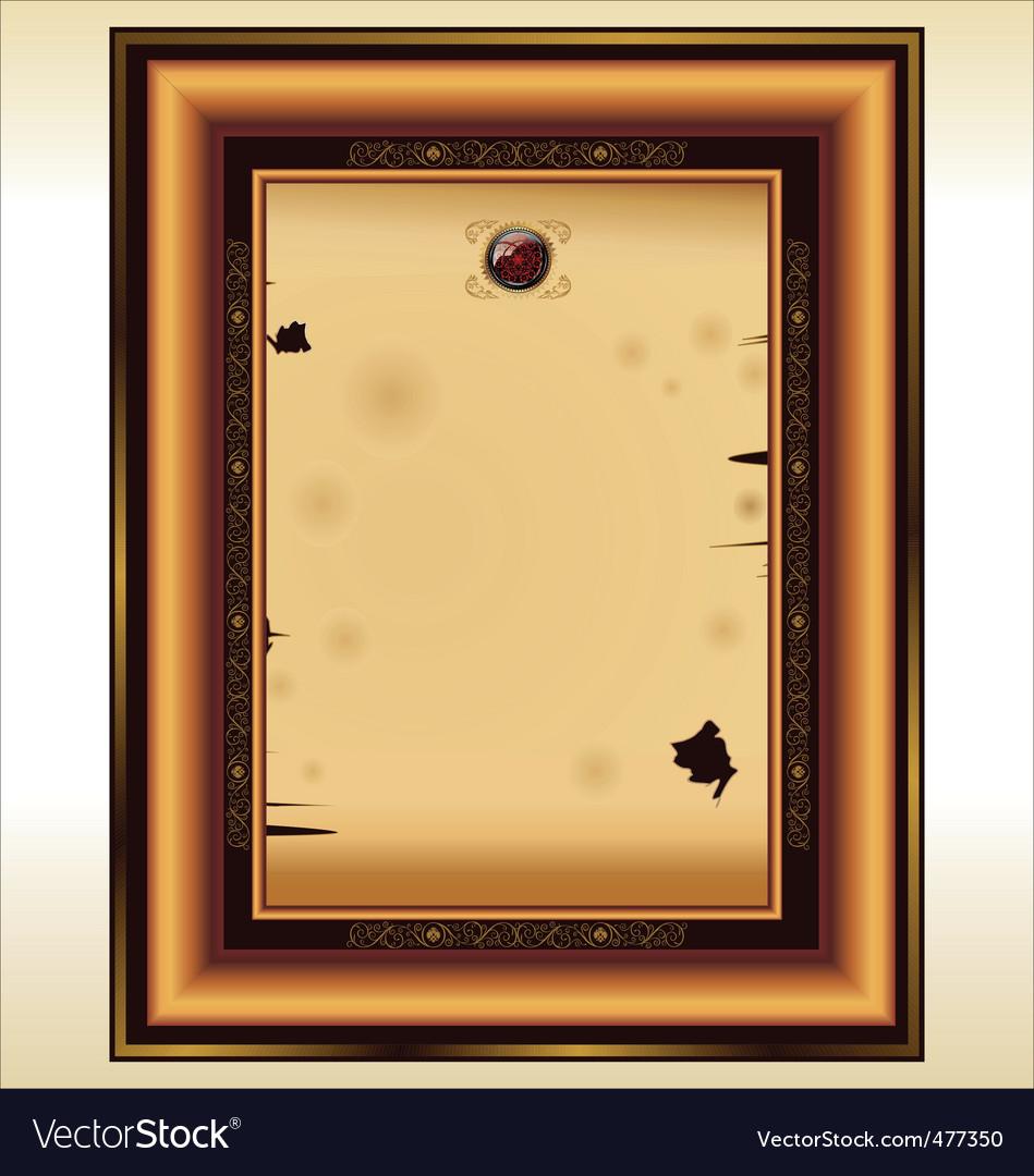Vintage photo frame vector | Price: 1 Credit (USD $1)