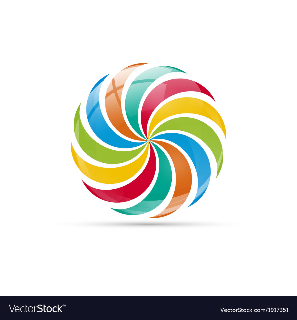 Colorful logo vector | Price: 1 Credit (USD $1)