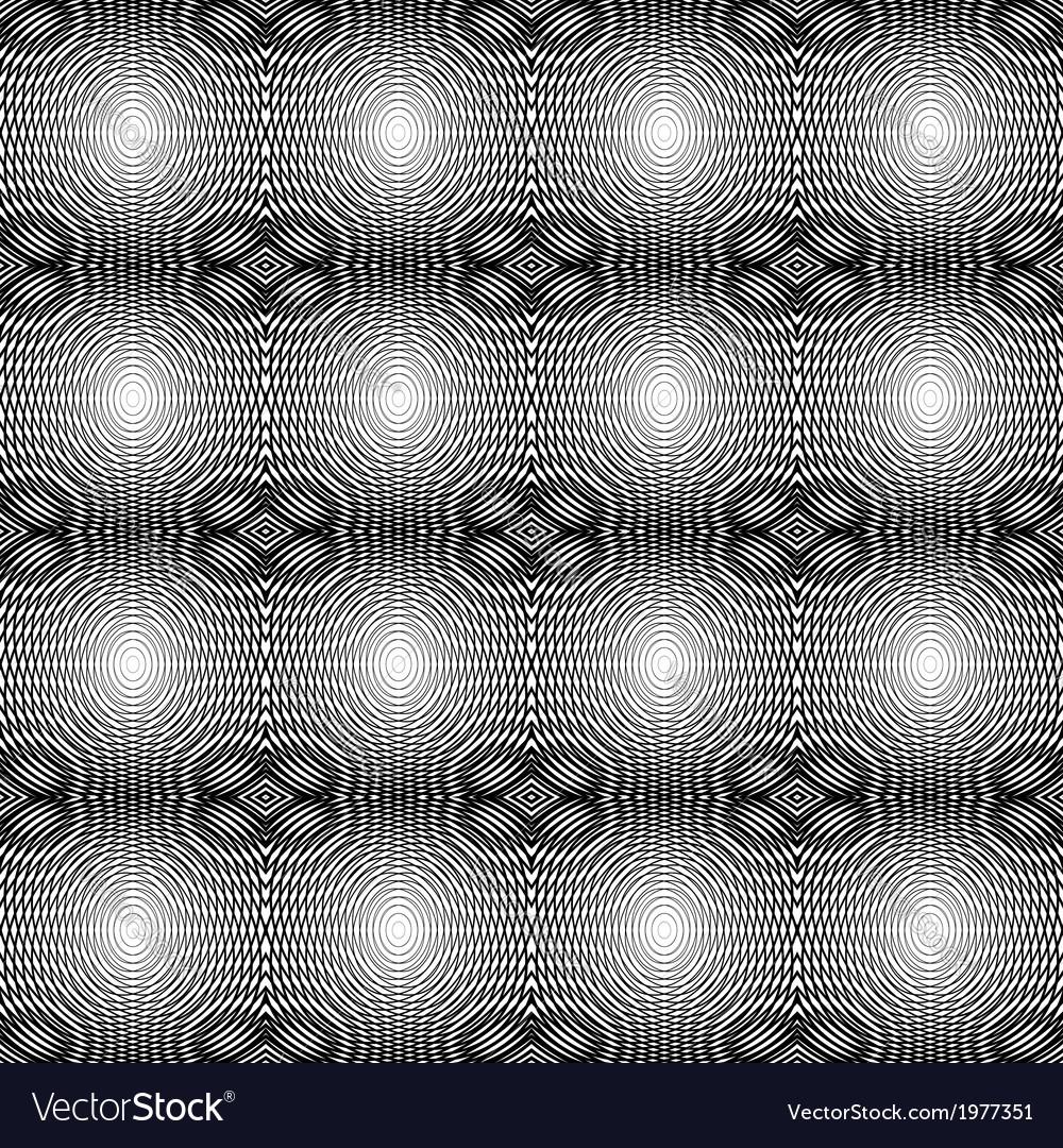 Design seamless monochrome horizontal pattern vector | Price: 1 Credit (USD $1)