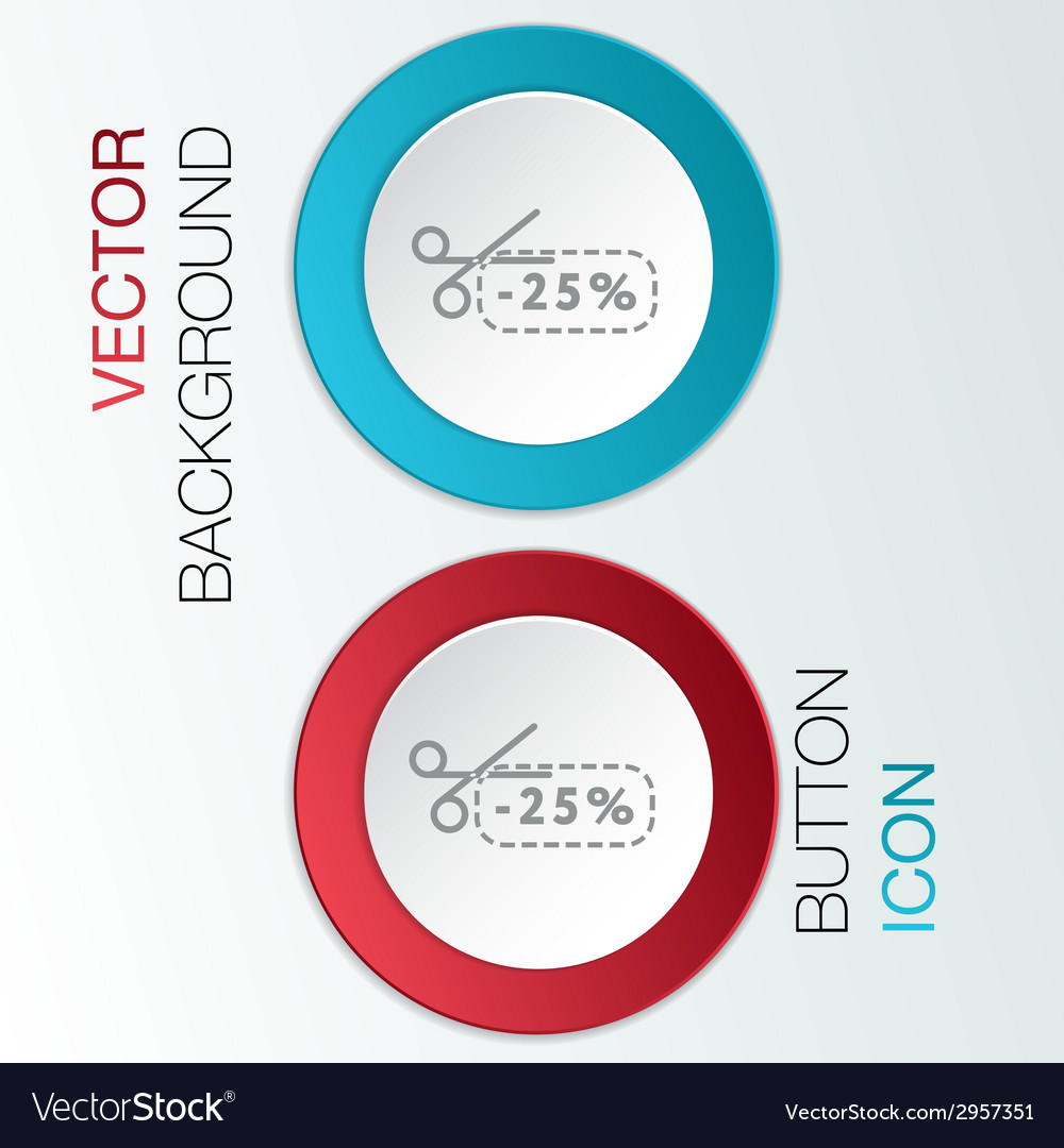 Discount coupon with scissors vector   Price: 1 Credit (USD $1)