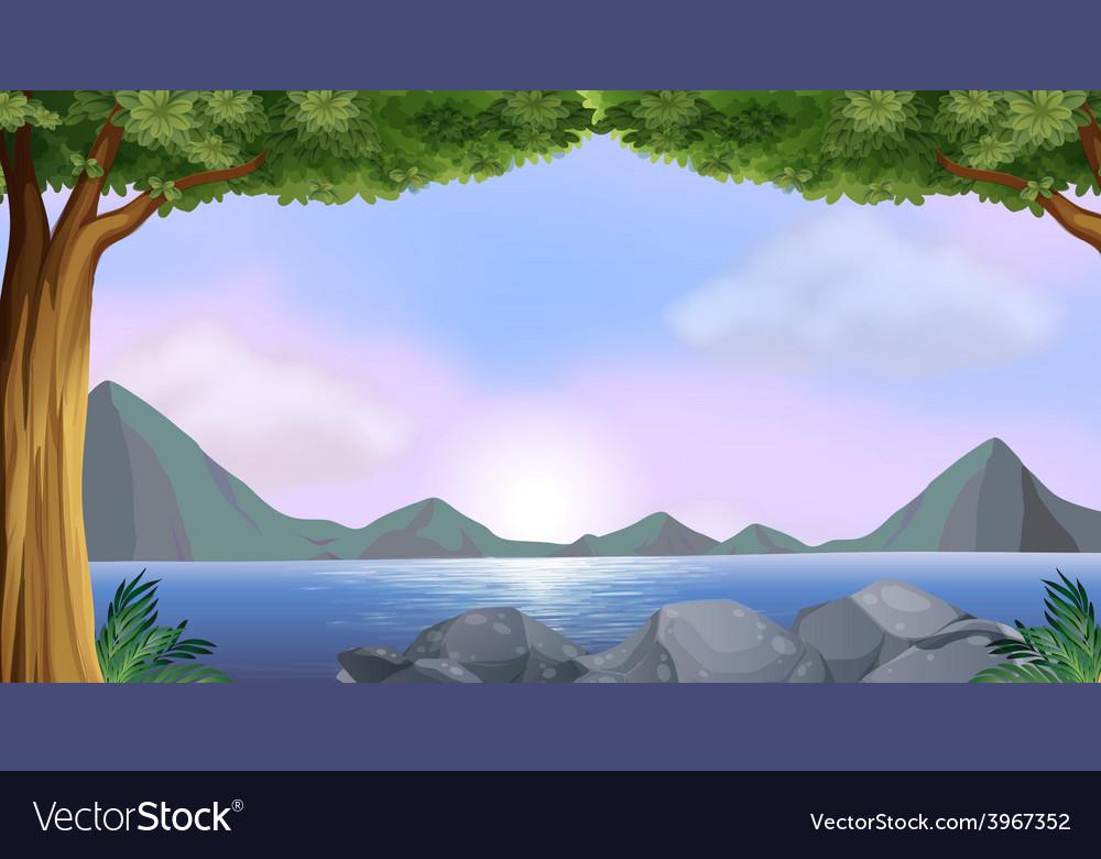 Lake vector   Price: 1 Credit (USD $1)