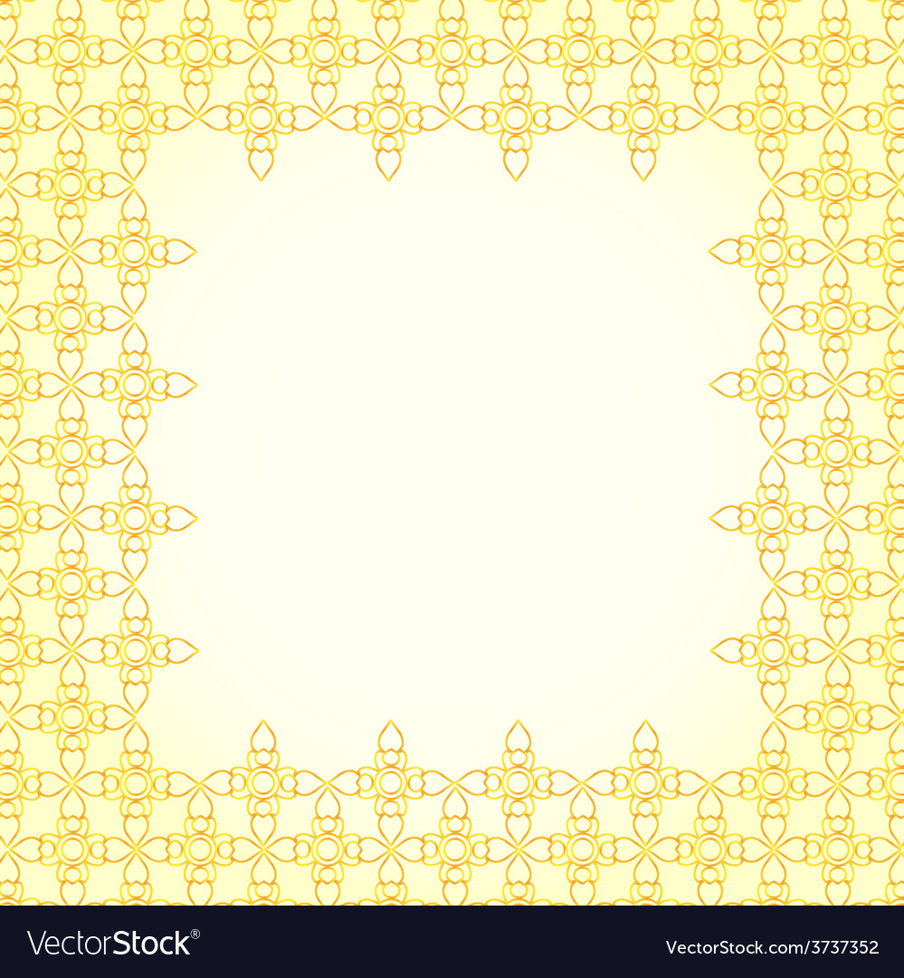 Thai art pattern background vector | Price: 1 Credit (USD $1)